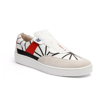 Men's Pastor JP Limited White Leather Sneakers
